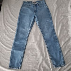 NWOT Everlane Cheeky High Rise Straight Jeans